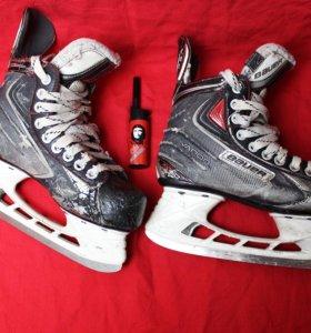 Коньки хоккейные детские Bauer размер34-35