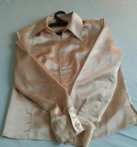 Шелковая рубашка, р. 50