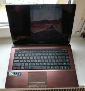 Ноутбук Asus для игр в металлическом корпусе