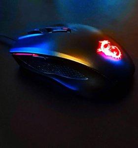 Игровая мышь MSI Clutch GM40 Black