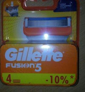 Кассеты для станка Gillette Fusion 5