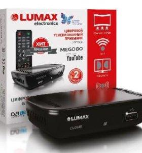 Цифровой эфирный DVB-T2 приемник LUMAX HD DVB-T2