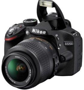 Зеркальный фотоаппарат Nikon D3200 18-55 VR II