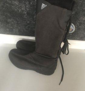 Зимние сапоги фирмы Adidas