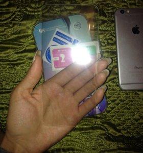 Защитные стекла для айфон 6 и 7и Самсунг с 8