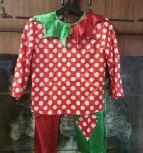 Карнавальный костюм Петрушки, детский