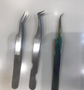 Пинцеты для наращивания ресниц