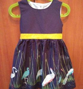 Платье для девочки, р-р 92-98