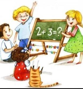 Репетитор начальных классов, развивающие занятия