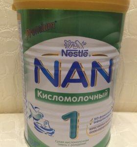 Смесь Nan 1 кисломолочный, 400 гр.