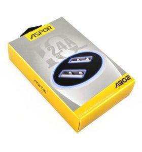 Автомобильное зарядное устройство Aspor A902