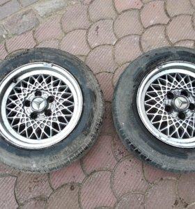Литые диски от Mercedes-Benz W124