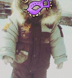 Зимний детский костюми