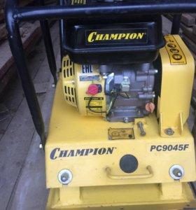 Бензиновая виброплита CHAMPION PC9045F