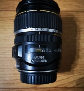 Объектив Canon EFS 17-85mm. На запчасти