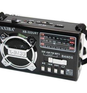Радиоприемник FM/AM (USB/MicroSD/AUX)