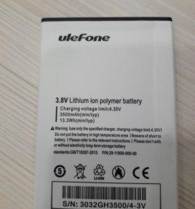 Батарея для Ulefone U008 Pro смартфон 4G 3500 mAh