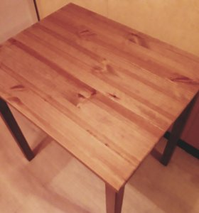 Стол деревянный из Икеи 55 на 70