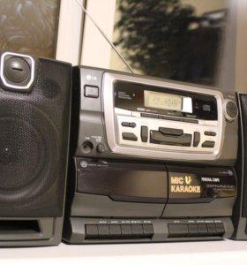 МУЗЫКАЛЬНЫЙ ЦЕНТР УЛЬТРА БАС КАРАОКЕ LG CD-962AX