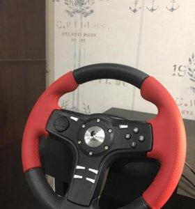 Руль+педали Logitech Formula Force EX