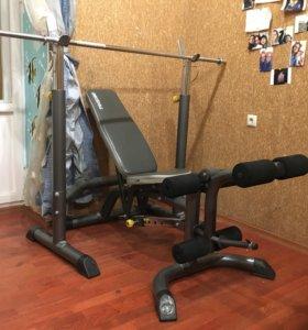 Torneo Ultra Bench силовая скамья, тренажер.