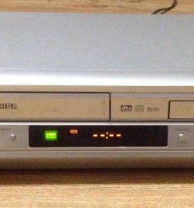 Видео и DVD магнитофон Toshiba