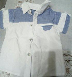 Рубашка и ветровка