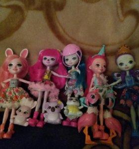 Куклы энчантимолс