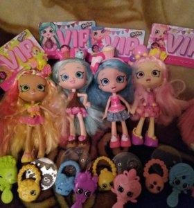 Куклы шопкинс