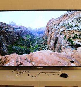Новый телевизор ok. LED (4K) 55 дюймов на гарантии