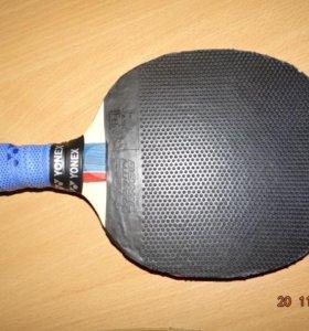 Идеальная ракетка для защитника с накладками DONIC