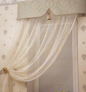 Пошив штор, тюли, ремонт одежды,римские