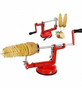 Машинка для резки картофеля спиралью
