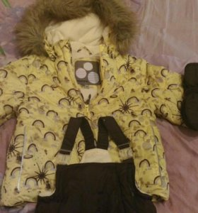 Зимний комплект huppa куртка штаны 98 рост