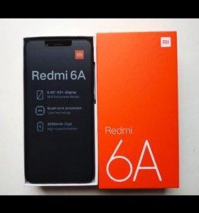 Xiaomi Redmi 6A черный гарантия 1 год