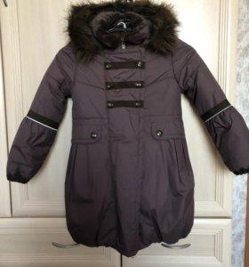 Пальто зимнее р.116+