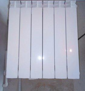 Батарея биметаллическая
