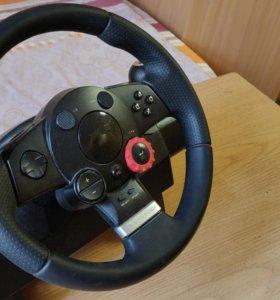 Игровой руль Logitech Drivin Force Gt