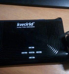Тв-приставка kworld analog tv box 1920 1200