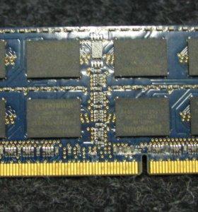 Озу Kingston DDR3 10600 4Gb Б/У для ноутбука
