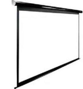 Экран для проектора из нового баннерного полотна