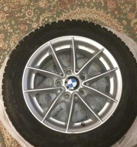 Диски с резиной зимней от BMW