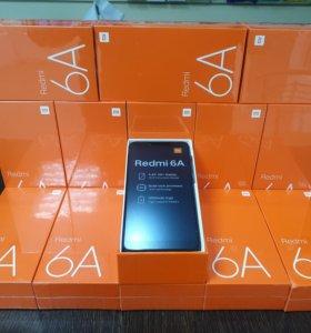 Рассрочка Xiaomi Redmi 6a Black Гарантия
