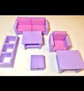 Мебель для кукол Барби,Винкс, Эвер Автер хай