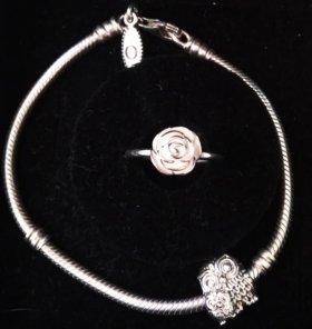 Пандора браслет, кольцо