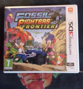 Fossil fighters frontier на 3DS