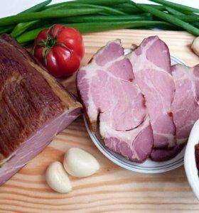 Копченая свинина, деликатесы