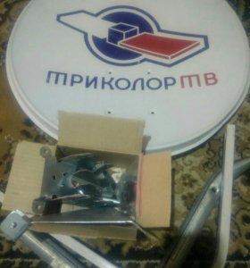 Антенна спутниковая триколор, НТВ плюс