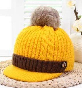 Детская шапка(обмен)