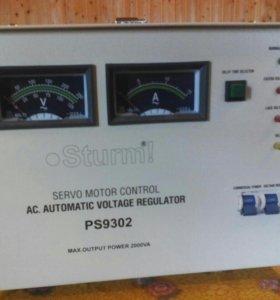 Стабилизатор напряжения. Sturm 2000